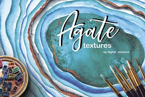 Agate watercolor texture backgrounds