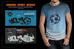 Grunge Sport Design