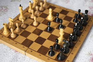 Ready chess game.