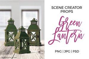 Scene Creator Props - Green Lantern