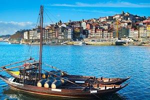Portro wine boat, Portugal