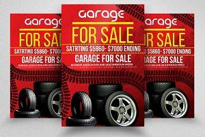 Garage Sale Promotion Poster