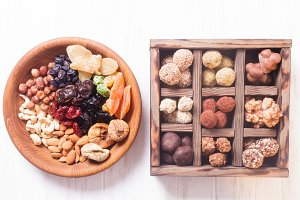 Healthy natural snacks