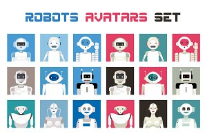 Robots Avatars Set
