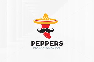 Peppers Logo Template