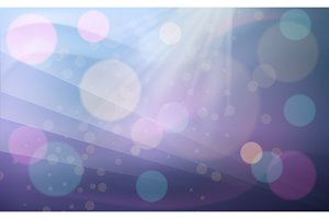 Purple and pink bokeh abstract background.