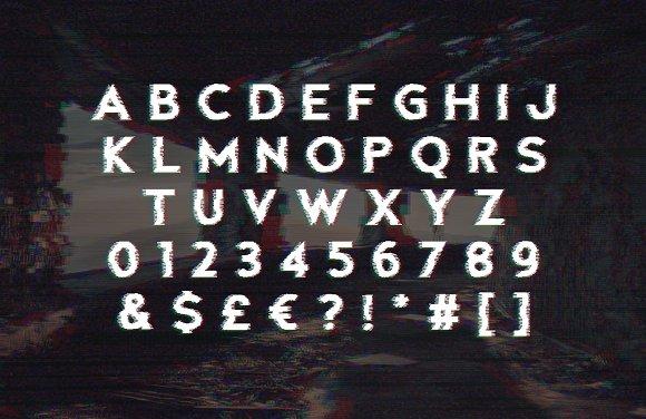 Fault - Glitch Font