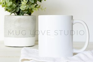 Mug Styled Stock Photo | 07