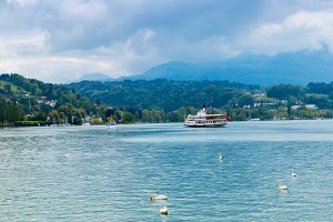 Boat tour on Lucerne lake.