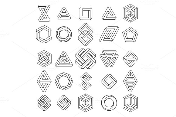 Graphic Impossible Shapes