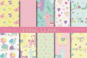 Spring llama paper