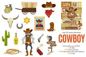 Cowboy Flat Set