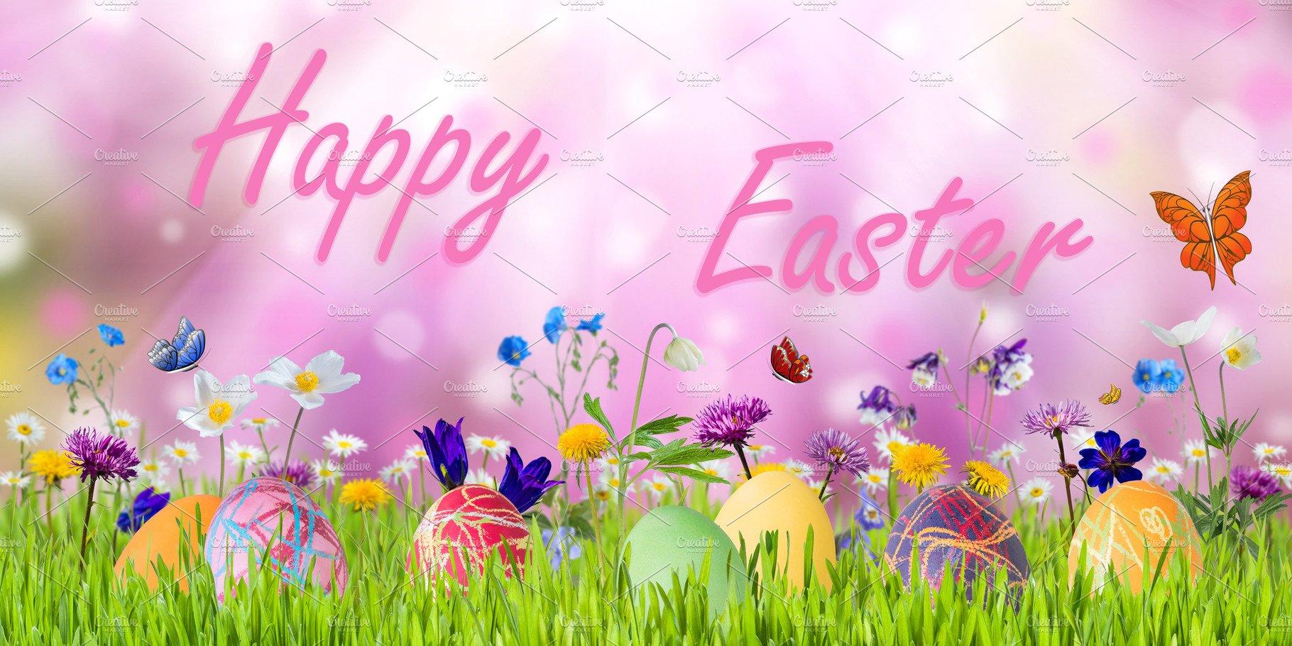 Easter background ~ Holiday Photos ~ Creative Market