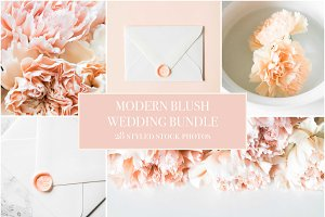 Modern Blush Wedding Bundle