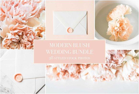Modern Blush Wedding Bundle