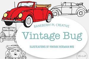 German Automobile Vintage Bug