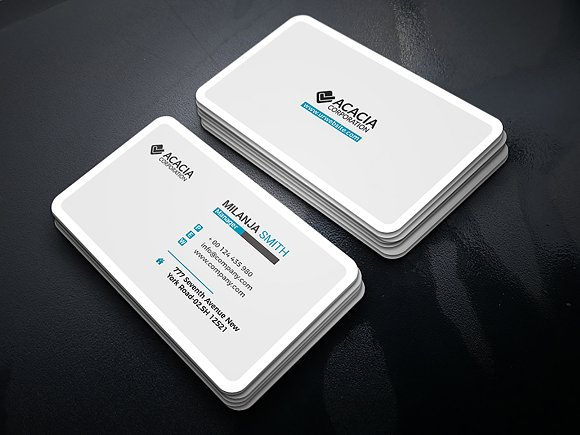 App Business Card Business Card Templates Creative Market - Business card template app