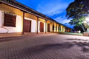 Mompox, Colombia at Night
