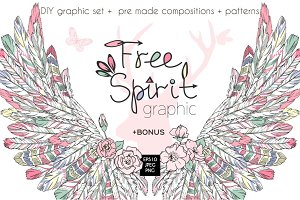 Free Spirit graphic collection