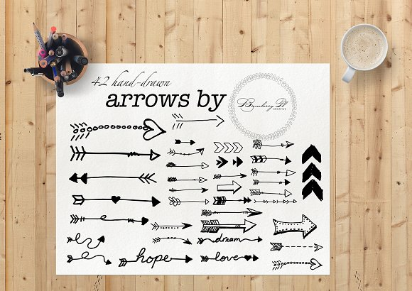 Hand-Drawn Arrows