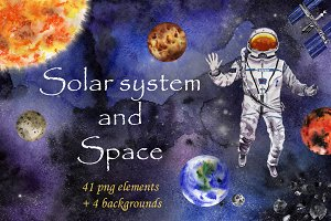 Solar system and Space collection