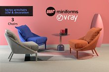 Armchair LEM collection & decor by  in Furniture