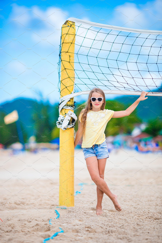 Little girls volleyball