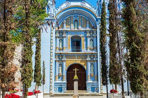 Beautiful Blue Church