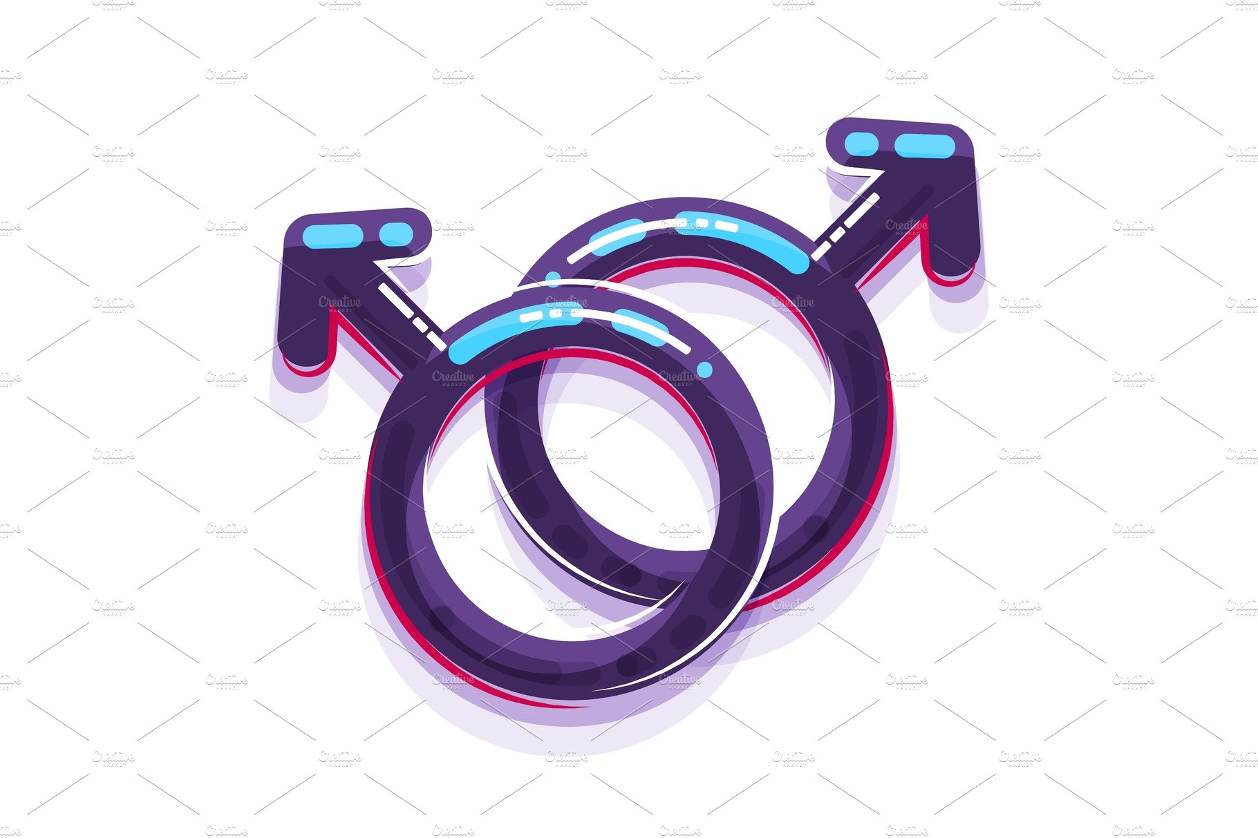 Female and male sex symbol gender men and women illustrations female sex symbol gender men and gay buycottarizona