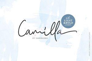 Camilla - Signature Script (6 Fonts)