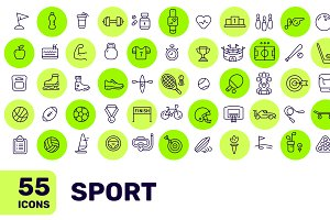 Sport pack (55 icons)