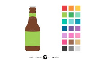 Beer Bottle Clipart
