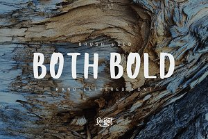 BothBold -Hand-lettered Display font