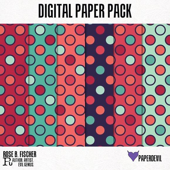 Digital Paper Pack: Pattern 5