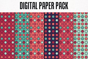 Digital Paper Pack: Pattern 6