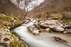 Cares river in Asturias