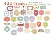 Frames & Shapes - Vector
