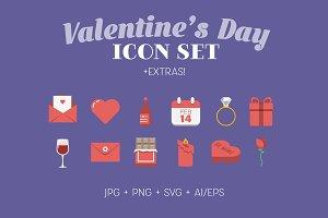 Valentine's Day Icons + Extras!