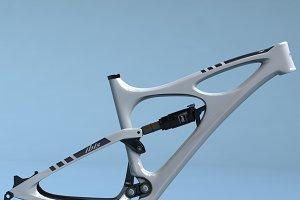 Bike Frame Mojo HD White