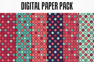Digital Paper Pack: Pattern 7