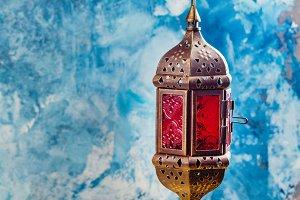 Hanging arabic lantern
