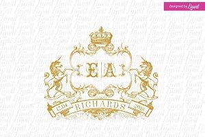 Royal Wedding Crest