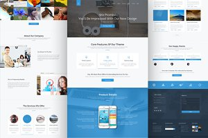 The Business WP Creative Theme