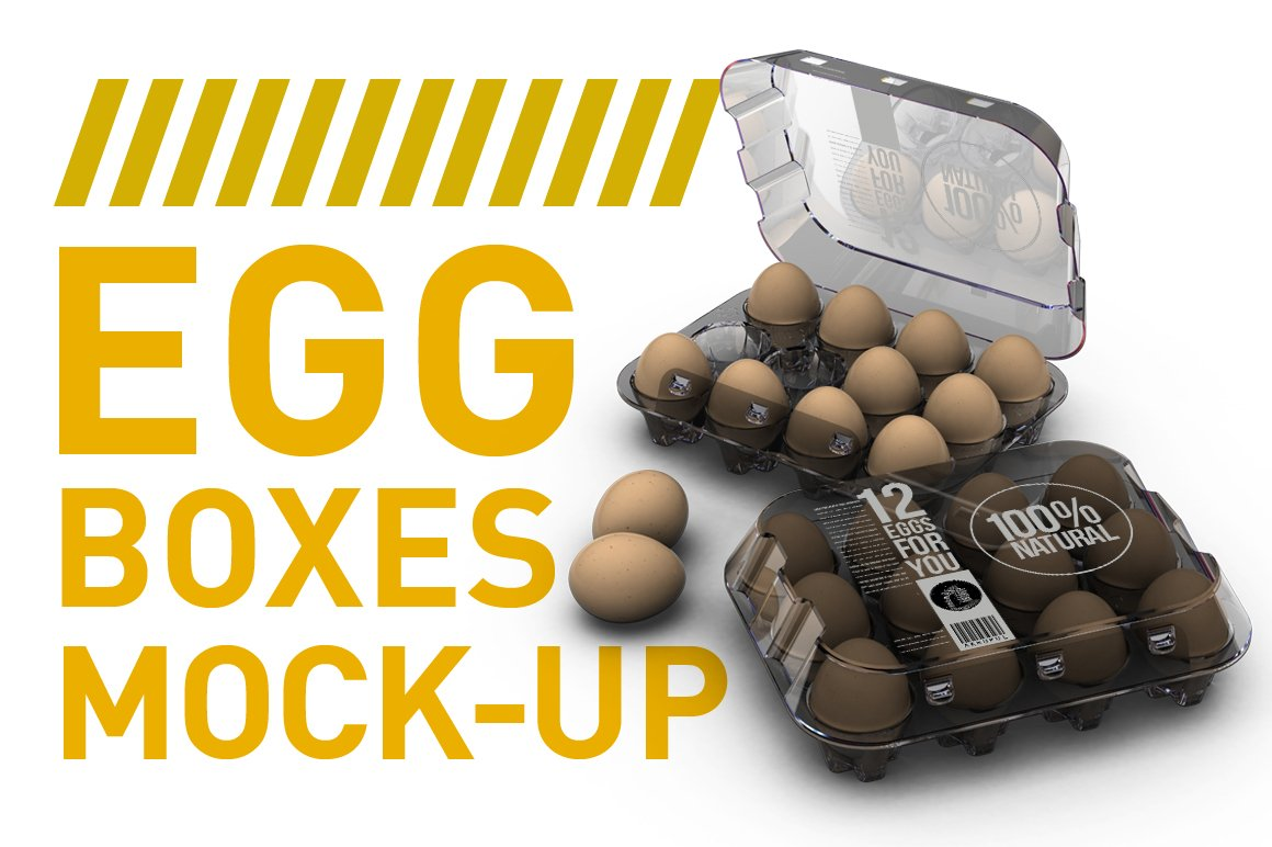 Eggs Mock Up Creative Product Mockups Creative Market