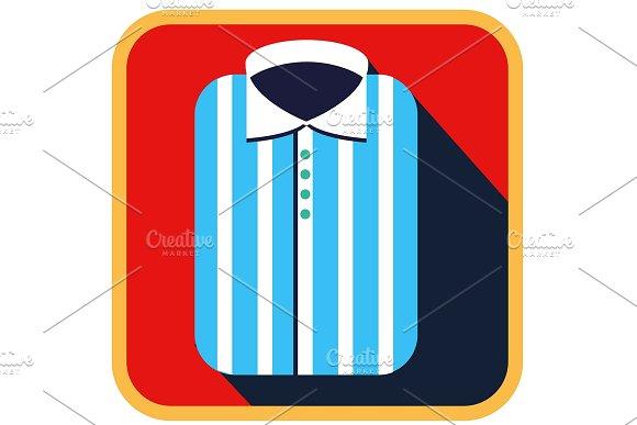 Fashionable Striped Man Shirt