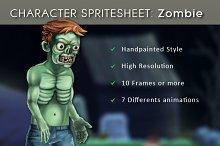 Character Spritesheet: Zombie