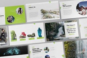 Adventure Shop Google Slide Template