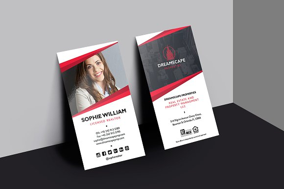 Real Estate Business Card Business Card Templates Creative Daddy