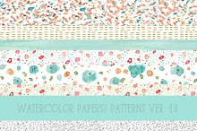 Watercolor Patterns 3.0