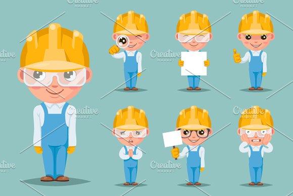 Builder Engineer Technician Mechanic